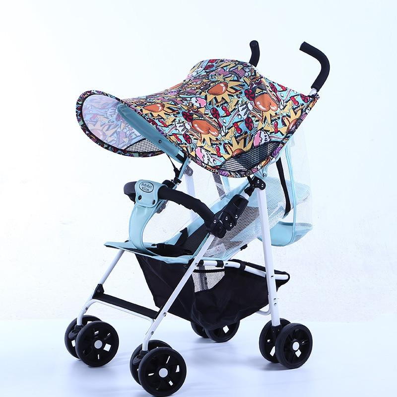Baby Stroller Sun Visor Anti-uv  Sun Sheild Shade Canopy Cover Cap For Prams Pushchair Car Seat Carriage  Accessories Yoya Yoyo