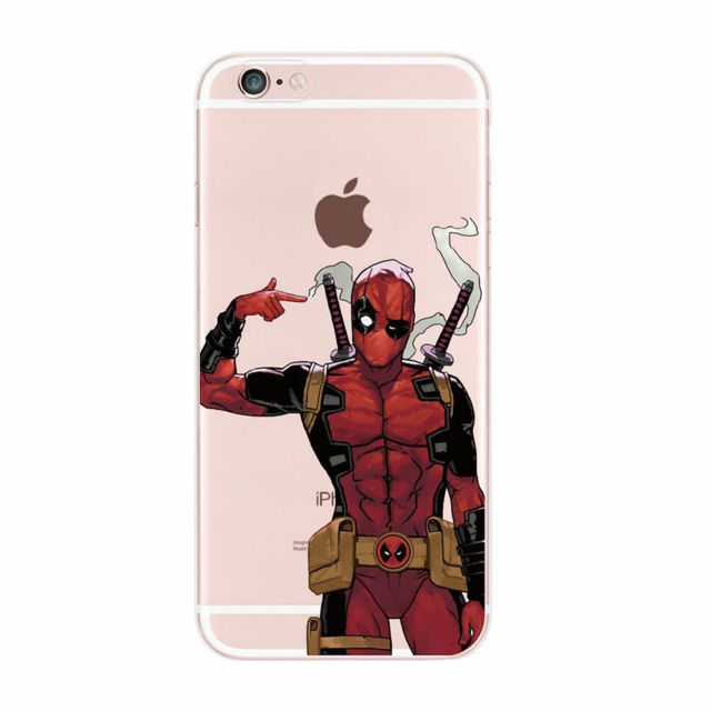Deadpool Case For Samsung & iPhone