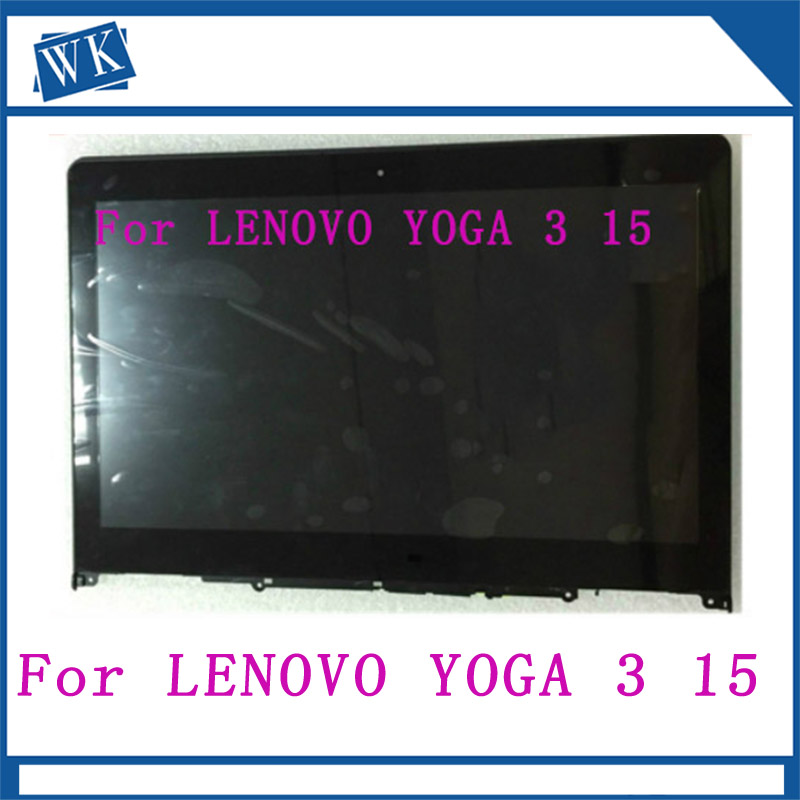 LCD Assembly For LENOVO YOGA 3 15 flex 3 15 yoga500 15 lcd touch screen digitizer replacement assembly