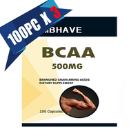 3 Bottles BCAA 2 1 1 High Quality Branch Chain Amino Multi Function