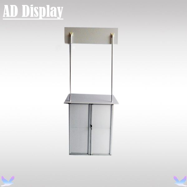Portable Exhibition Counter : Double d portable exhibition display counter portable counters