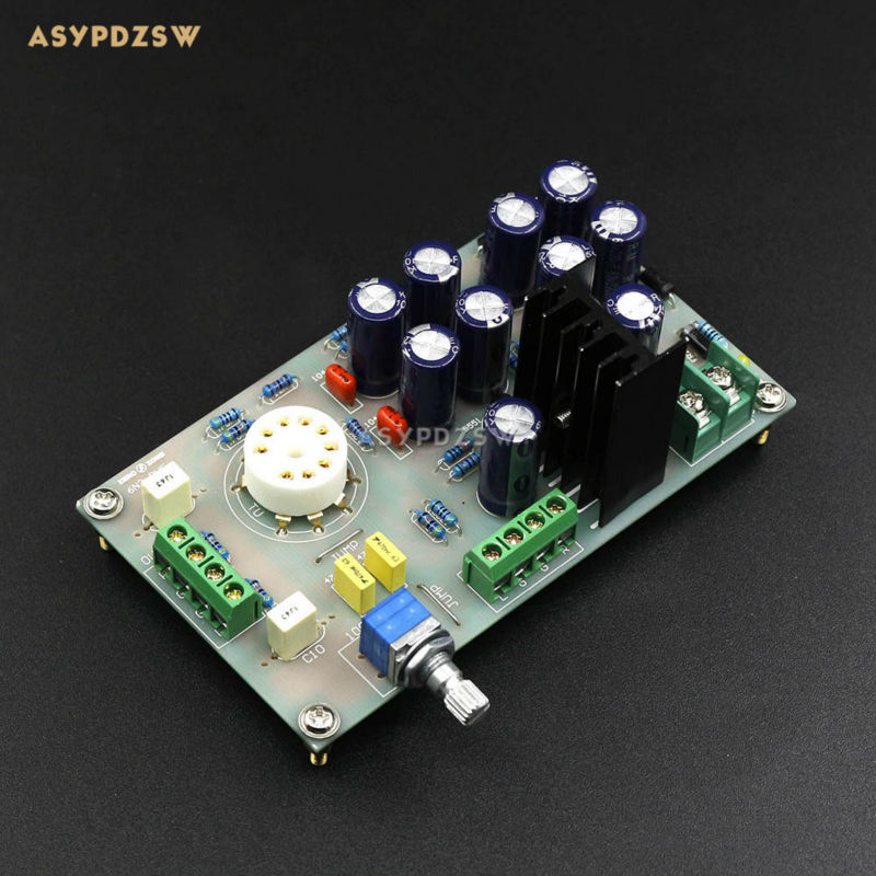 6N3(5670) <font><b>Tube</b></font> buffer Audio Preamplifier Pre AMP board For DIY <font><b>Amplifier</b></font> board image