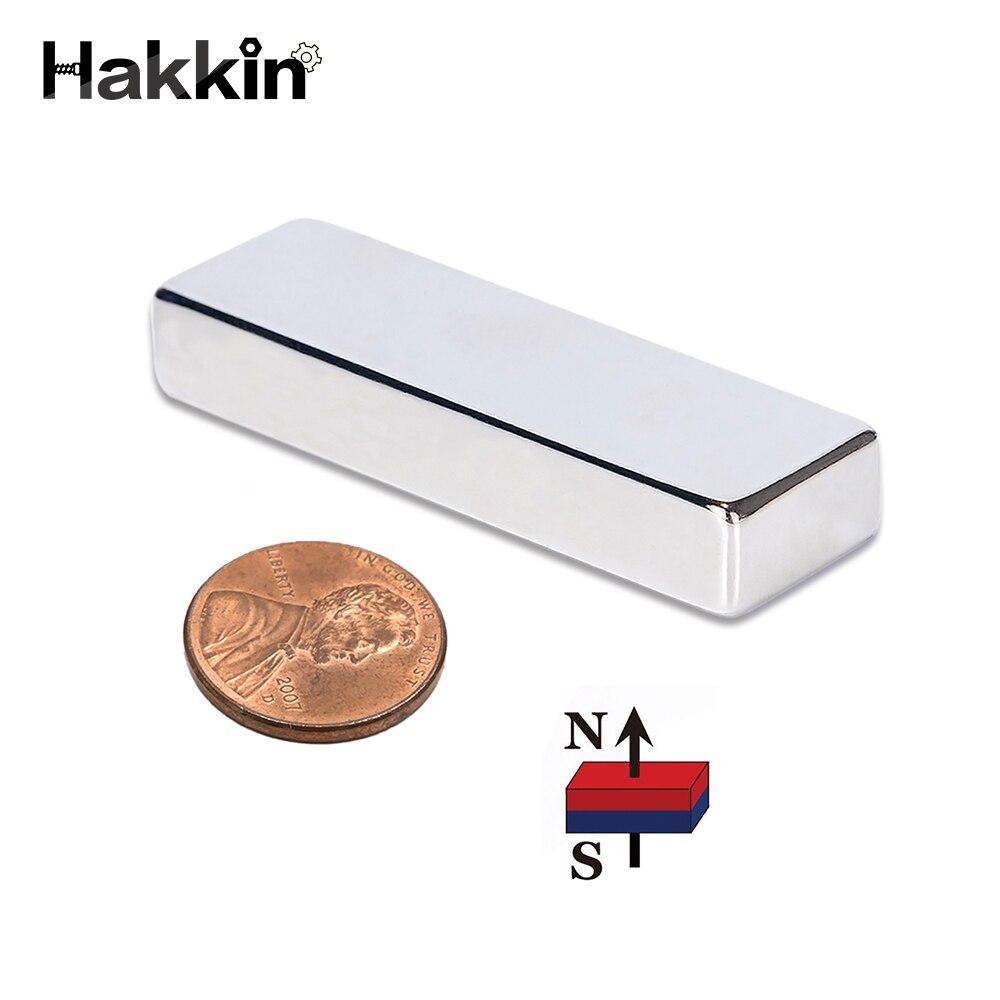 Hakkin 1 stücke Quader Block 60x20x10mm Super Starke N52 hohe qualität Seltenen Erden Neodym magnete Magnet 60*20*10mm 60mm * 20mm * 10mm
