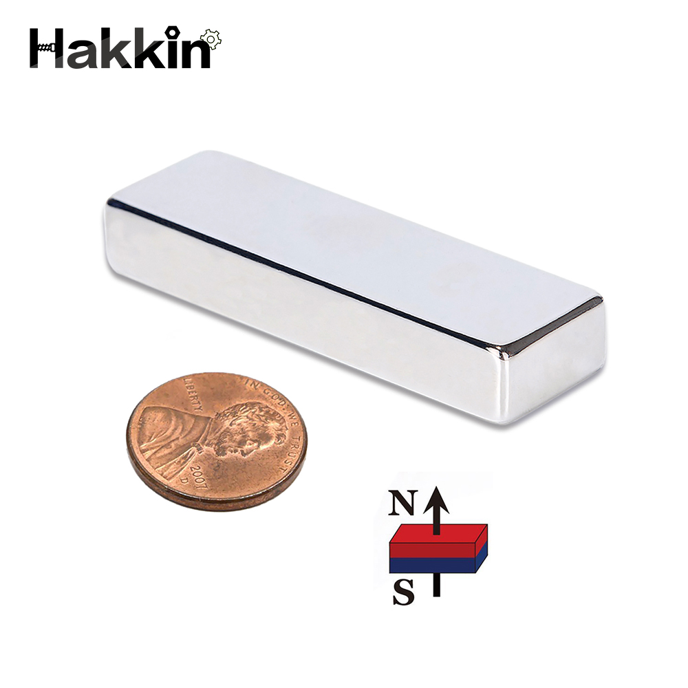 Hakkin 1pcs Cuboid Block 60x20x10mm Super Strong N52 high quality Rare Earth magnets Neodymium Magnet 60*20*10mm 60mm*20mm*10mm