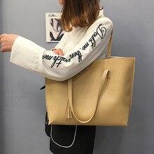 Hot Sale Simple Fashion Large Capacity Bags For Women Fringe Handbags Shoulder Bag PU Ladies MSJ99