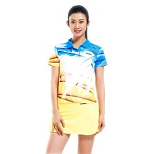 Professional Kawasaki Breathable Badminton T-Shirt Quick Dry Sport Clothing Jersey For Women ST 15204(China)