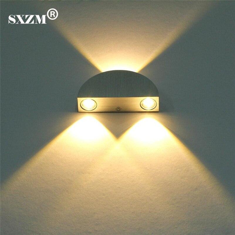 SXZM 3W wall led lamp home decoration deiling lightAC85-265V Modern wall lights for indo ...