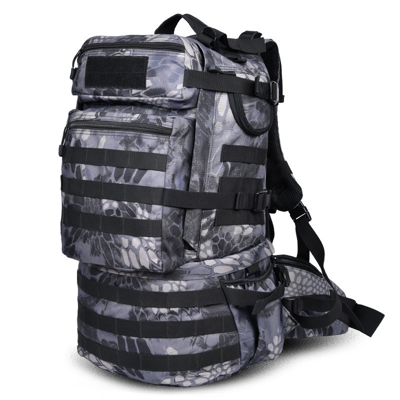 New large capacity backpack backpack travel waterproof bag female high grade 50 L Recreation camouflage bag