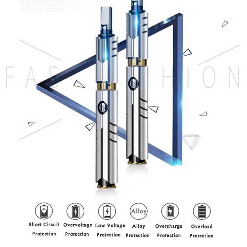 FERSHA electronic cigarette Vape mod kit box 50W Mechanical rod 650mah battery 0.5 ohm Alloy body  Player quit smoking