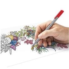 Германия оригинальные Staedtler 334 Цвет Живопись Pen 0.3 мм ручной граф волокна ручка крюк линия пера 20 видов цветов/партия