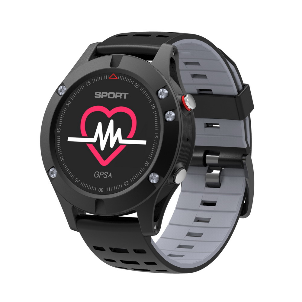2018 SMART Watch F5 GPS heart rate monitoring Bluetooth 4.2 temperature Measurement smartwatch Waterproof Multifunction clock fs08 gps smart watch mtk2503 ip68 waterproof bluetooth 4 0 heart rate fitness tracker multi mode sports monitoring smartwatch