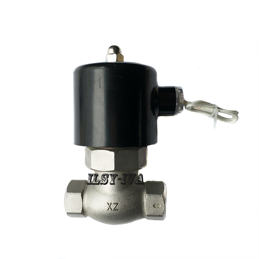 Two way US-15 DN15 AC220V stainless steel high temperature and high pressure steam solenoid valve dn25 high temperature solenoid valve for steam