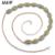 2017 Nueva Cadena de diamantes de Imitación Verde Cinturones Para Las Mujeres Diseñador de la Marca Cinturones de Danza Del Vientre Cintura Cadena de La Cintura de La Boda de Lujo