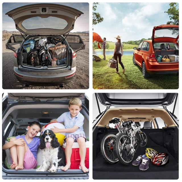 Pet carriers Car Seat Cover Dog Cat Car Back Seat Waterproof Scratch-proof Nonslip Durable Soft Mat Hammock Cushion Protector 4