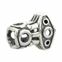Solido Argento 925 Martello di Thor Fascino Adatto Europea di Marca 3.0mm Bracelet & Necklace Jewelry