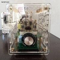 2x3W Mini Single ended Tube Amplifier 6J1 Preamp FU32 Power Amplified Acrylic Casing Amplifier kit DIY