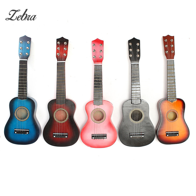 21'' Kids Acoustic Guitar 6 String Practice Music Instruments Children HOT Musical Toys Educational Games Music Guitar Gifts otamatone toy music instruments for kids with 8 built in songs