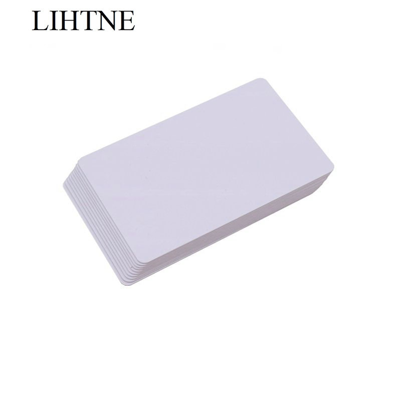10PCS/lot ISO15693 ICODE2 13.56MHz 1K PVC RFID IC Cards winfeng 2000pcs lot cmyk color pvc snap off keychain combo cards plastic die cut combo cards with barcode