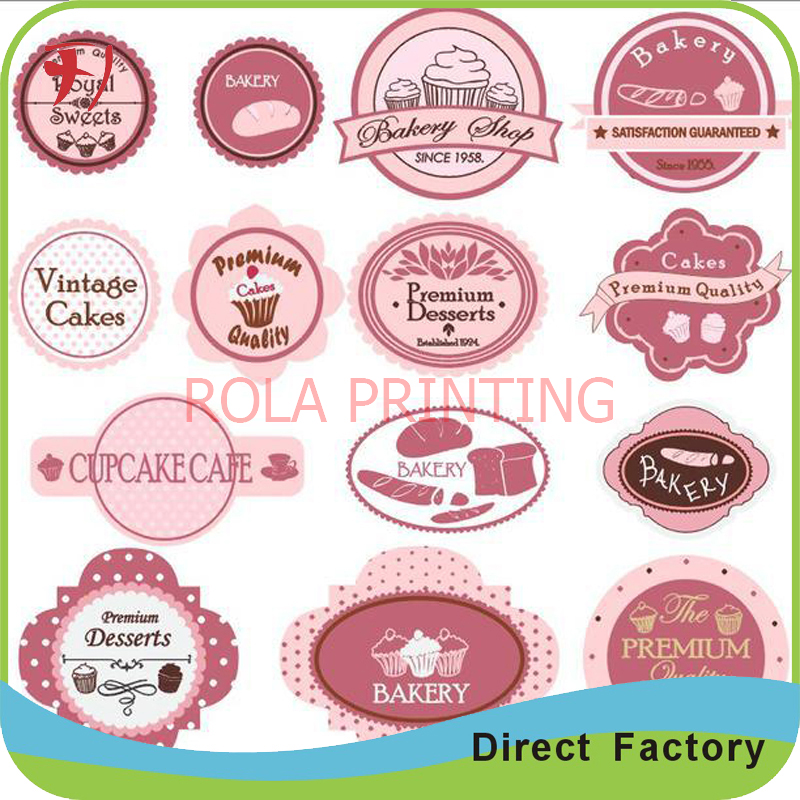 Waterproof removable name company logo stickers makerprint custom adhesive name label in stationery sticker from office school supplies on aliexpress com