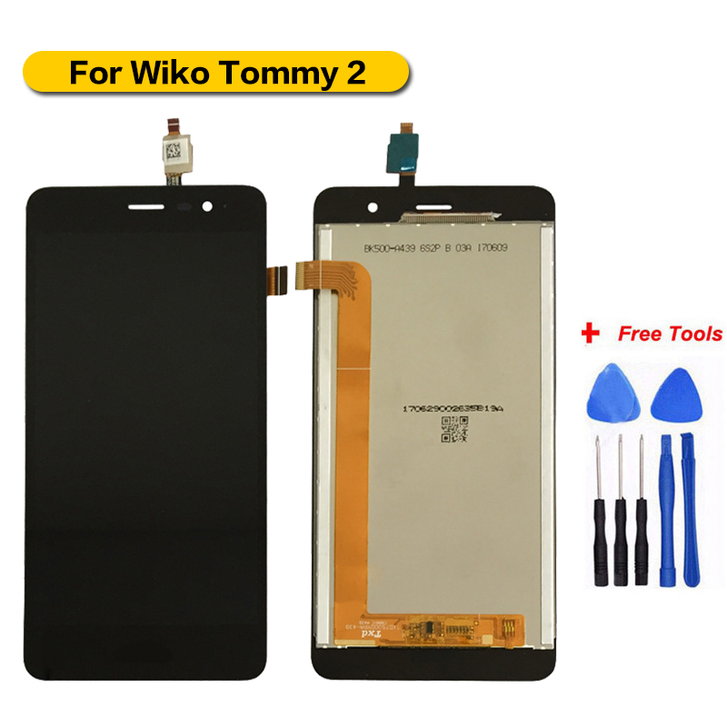 Expressive For Wiko Tommy 2 Lcd Display+touch Screen Assembly 100% Tested For Wiko Tommy 2 Display Lcd Spare Parts+tools With A Long Standing Reputation Mobile Phone Parts