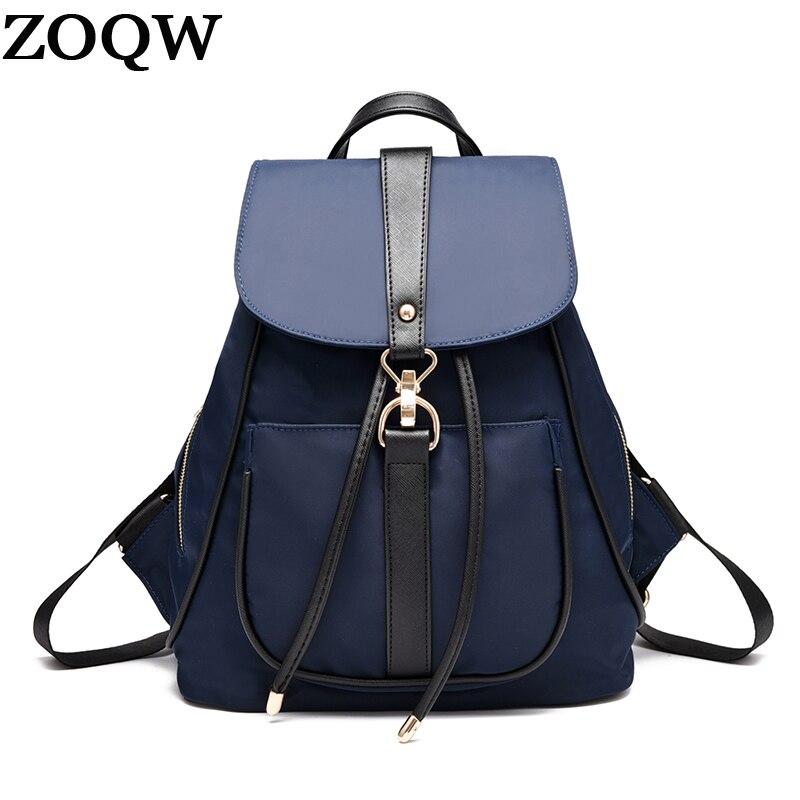 Oxford Women Backpack Female Casual Women's Backpacks School Bags For Teenagers Travel Rugzak Mochila Feminina Zoqw Wyq264