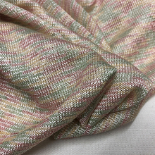 high-end mercerized cotton cotton elastic color emulation silk knitted jacquard fabrics with the spring/summer fabrics