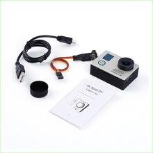 1 unids plata 4 k @ 24fps 16mp hd action sports cámara fpv para firefly 6c astilla/negro