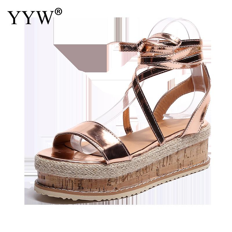 2019 Summer Wedge Sandals Shoes Casual WomenS Rubber Sole Studded Sandal Buckle Ankle Strap Open Toe Sandals Zapatos De Mujer2019 Summer Wedge Sandals Shoes Casual WomenS Rubber Sole Studded Sandal Buckle Ankle Strap Open Toe Sandals Zapatos De Mujer