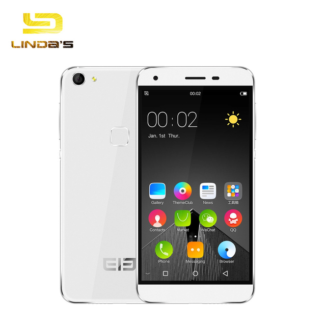 Original Elephone S1 Android 5.1 3G Smartphone 1GB 8GB MTK6580 1.3GHz Quad Core 5.0'' HD Screen 8.0MP 1800mAh Mobile Phone