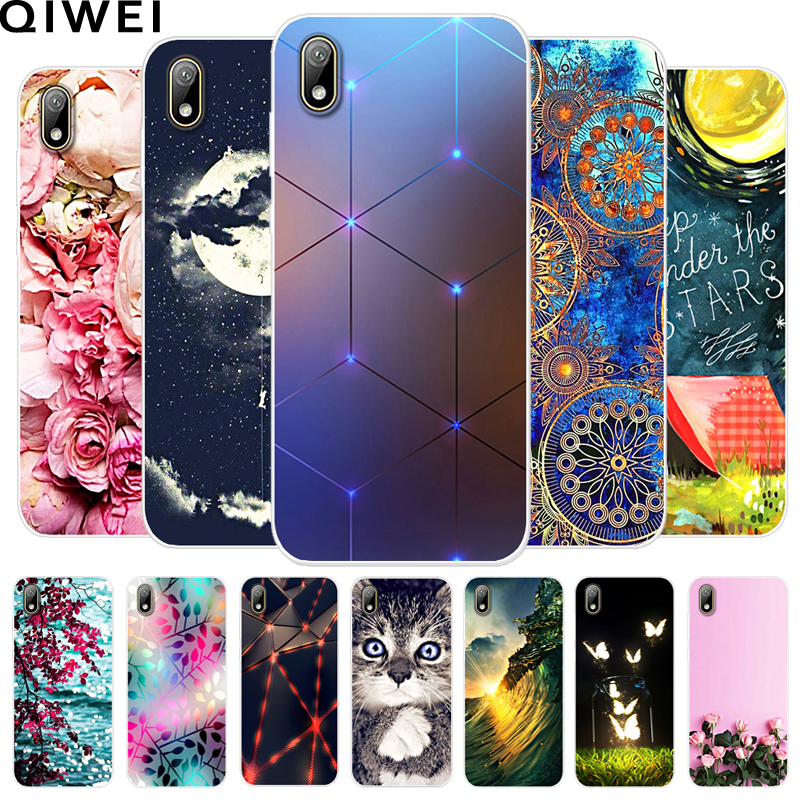 Soft TPU Case For Huawei Y5 2019 Cover Clear Bumper Coque For Huawei Y5 2019 Painted Silicon Phone Cases Popular Fundas Y 5 2019