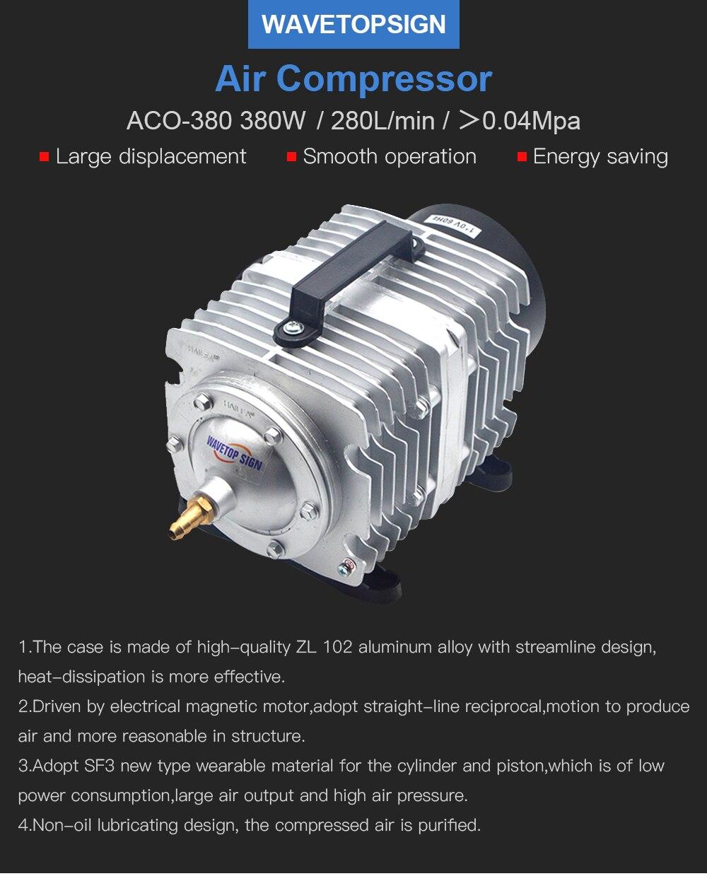 280L/Min 50 0.04Mpa מדחס 2