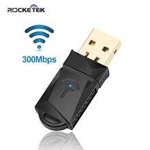 Rocketek 150/300/600 Мбит/с беспроводной USB WiFi адаптер MT7601/RTL8188CU Wi-Fi приемник ключ 2,4G 5 ГГц для ПК Windows/MAC OS/Linux