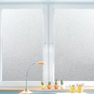 30/45/60/80/90cmPVC Frosted Window Film Waterproof Glass Sticker Home Bedroom Bathroom Office Privacy Scrubs Frost No Glue(China)