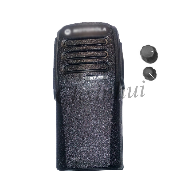 The Housing Shell Case For Motorola  Walkie Talkie Two Way Radio XIR P3688  DP1400 DEP450 With The Knobs