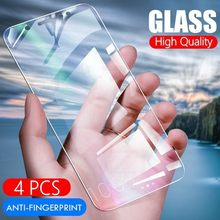 4pcs/Lot Tempered Glass For Samsung Galaxy M30 M20 M10 A9 A8 A6 Plus A7 J6 J4 2018 Prime Screen Protector Protective Film(China)