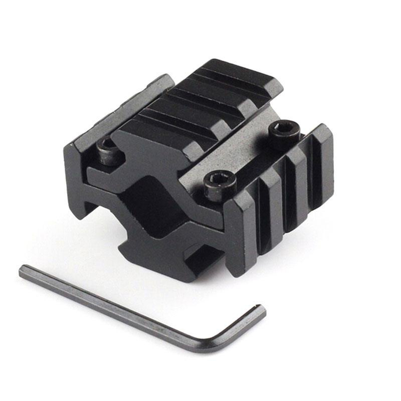 4-sided Guide Rail 3 Slot Sight Clip 1PC Universal Barrel Mount 4 Rail Picatinny Weaver Rail Fit For Scope Optics Lasers Hunting4-sided Guide Rail 3 Slot Sight Clip 1PC Universal Barrel Mount 4 Rail Picatinny Weaver Rail Fit For Scope Optics Lasers Hunting