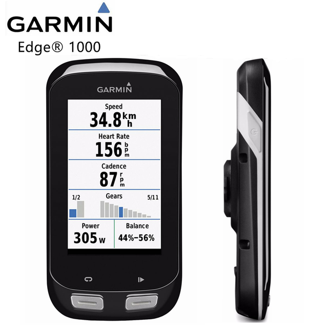 Garmin Cycle Computer >> Garmin Edge 1000 Gps Bike Speedometer Cycle Computer Performance