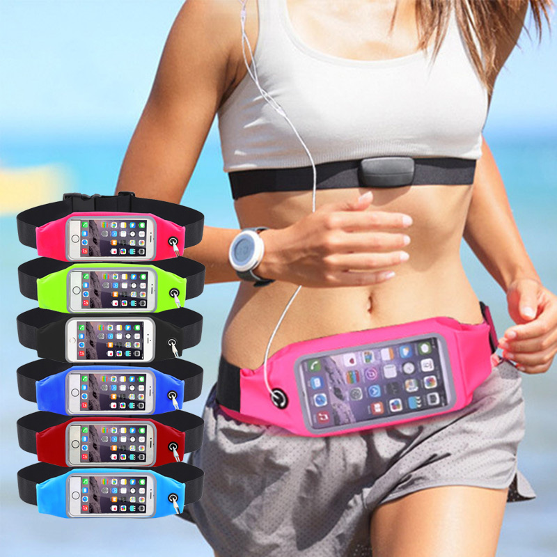 For Samsung A5 A3 J5 2016 Sports Waist Belt Bag Pouch Pack Phone Cases For Xiaomi Redmi Note 3 Pro Note 4 Case For iPhone 6