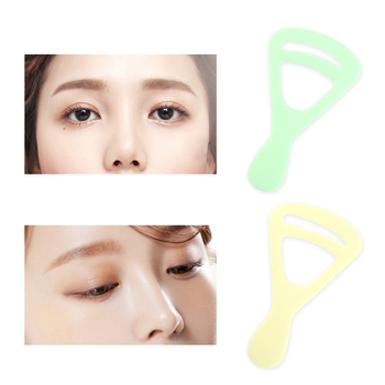 2 Pcs Eyebrow Stencils Reusable Eye Brow Shaping Template Drawing Guide Card DIY Makeup Tools KG66