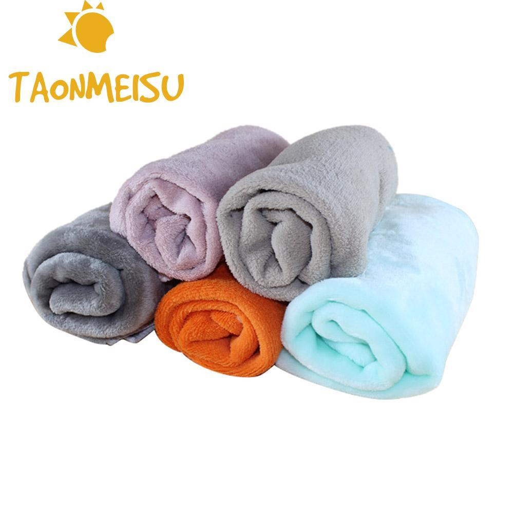 New Arrival Pet Blanket Coral Fleece Warm Velvet Kennel Sleeping Bed Cover Mat For Small Medium Large Pet Dog Cat Chihuahua