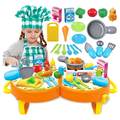 New Arrival Children play house toys girls play house kitchen toys cooking utensils cutlery set baby