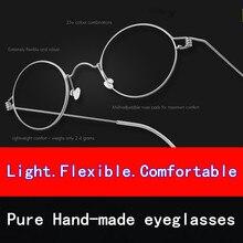 Творческий большие оправе очки инновационные безвинтовые очки бренд сверхлегкий близорукость очки мужчины очки Бизнес Оливер очки