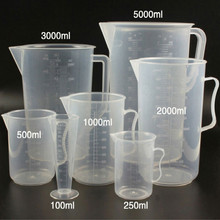 measuring cups plastic cup measure 250ml-5000ml free shipping