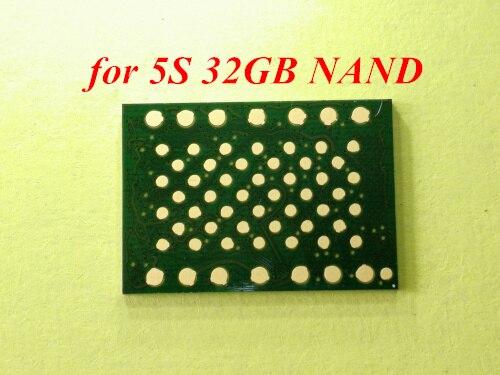 1 pcs 2 pcs 5 pcs Pour iPhone 5S 32 GB Nand flash mémoire IC Disque Dur HDD puce Programmé avec imei et N ° de Série.