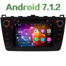 Quad Core 2GB RAM 16GB ROM 8″ Android 7.1.2 Car Multimedia Stereo radio player for Mazda 6 Ultra Ruiyi 2008 2009 2010 2011 2012