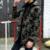 2017 Forro de Algodón de Los Hombres de Invierno Trench Coat Jacket Hombres de Camuflaje Con Capucha Parka Casual Gruesa Caliente Ropa Hombre Ropa Deportiva de Marca