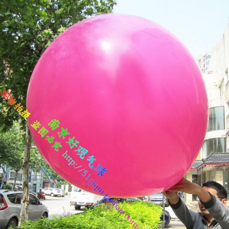 [ Fly Eagle ] HOT !!! 15 inch wedding decoration super big balloon free shipping novelty pink colors