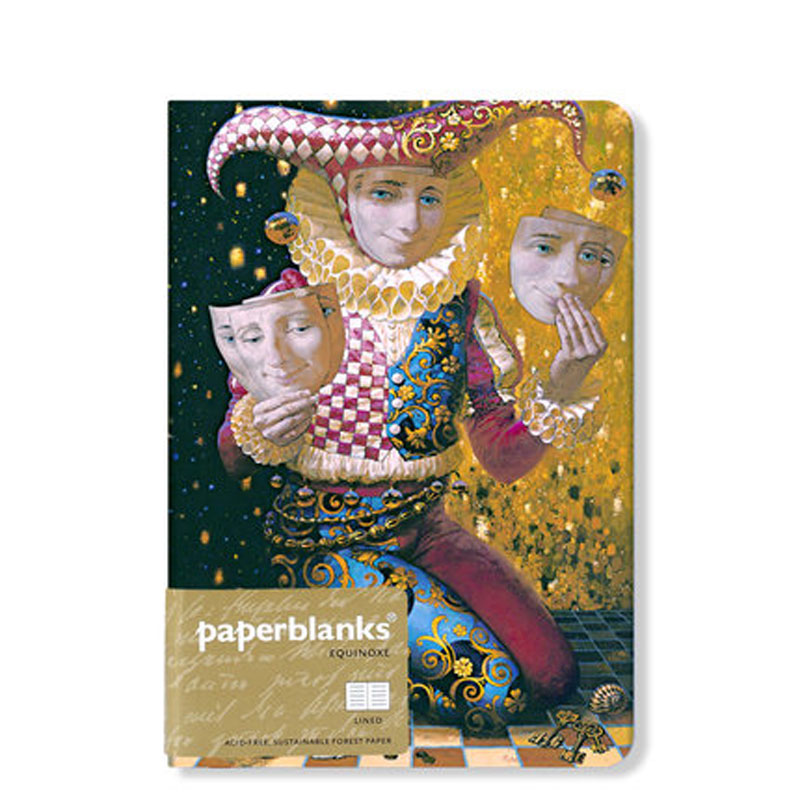 Yiwi Paperblanks Vintage 176 Sheets Line Blank Paper Notebook Color Hardcover Diary Book School Office Supplies Stationery