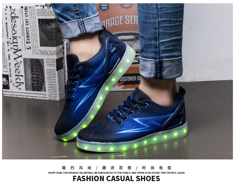 Led Sneakers Lightning 16