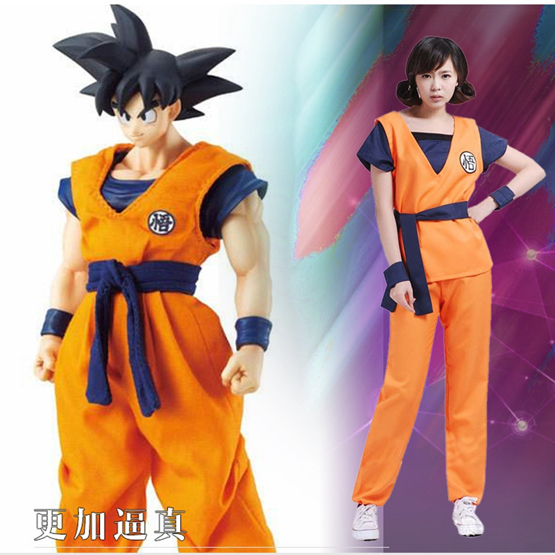 cosplay costume dragon ball Son Goku uniforms anime cartoon Master Roshi role play kong fu unisex suits